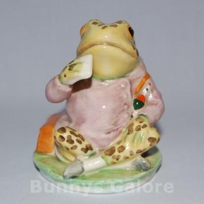 Beswick Beatrix Potter Mr Jeremy Fisher Spotted Image